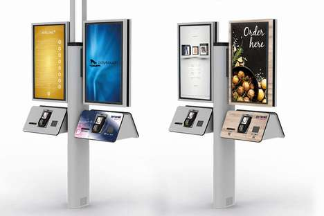 Four-in-One Self-Service Kiosks