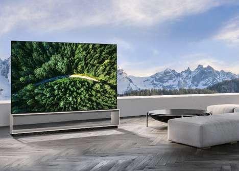 Deep Learning 8K TVs