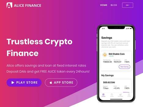 Cryptocurrency Finance Banking Platforms