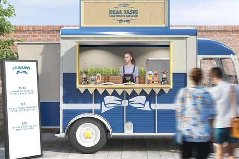 Waste-Reducing Street Food Trucks