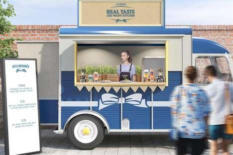 Waste-Reducing Street Food Trucks