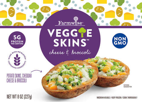 Microwaveable Potato Skins