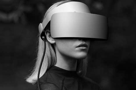 Simplistically Designed VR Headsets