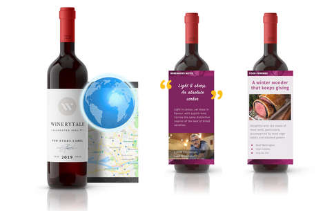 Location-Aware Wine Labels