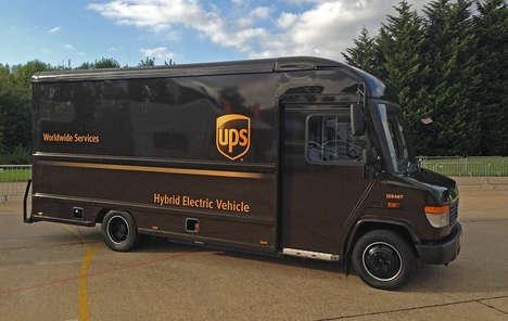 Range-Increased Hybrid Delivery Trucks