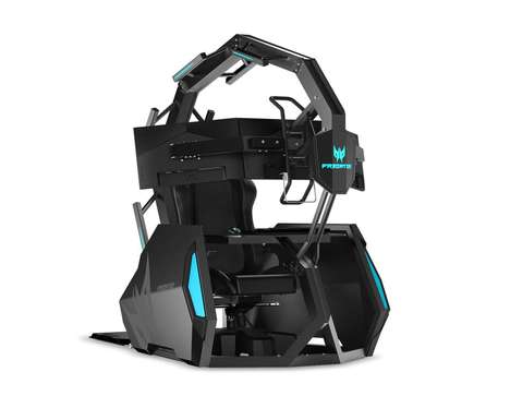 Large Immersive Gaming Chairs