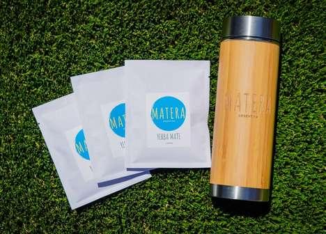 Yerba Mate-Infused Energizing Drinks