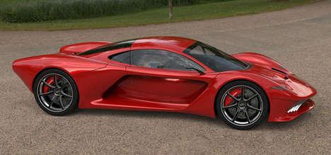 Aerodynamic Eco Sports Cars