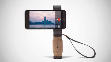 Naturalistic Smartphone Handle Mounts