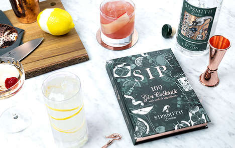 Three-Ingredient Cocktail Books
