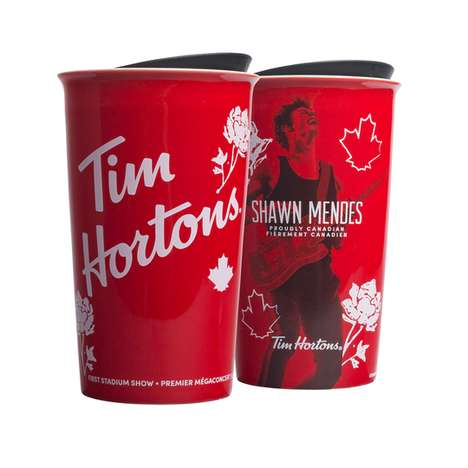 Canadian Singer Coffee Tumblers