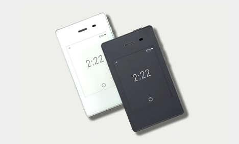 Minimalist Mindfulness Cellphones