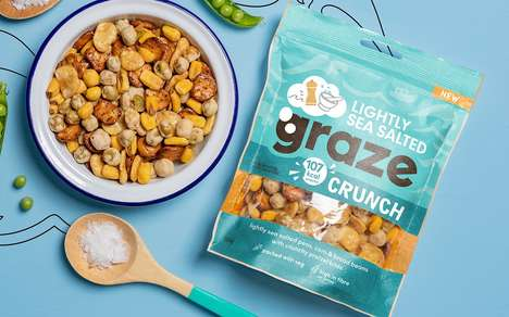 Nutritiously Flavorful Snack Products