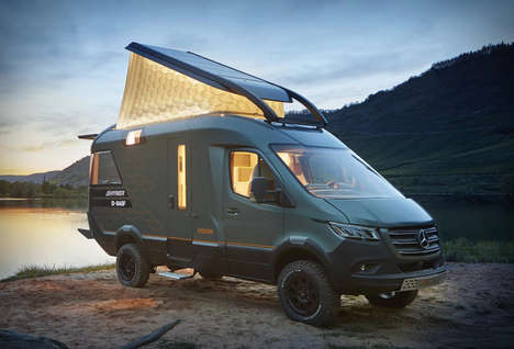 3D-Printed Camper Vans