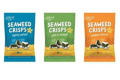 Crunchy Vegan Seaweed Snacks