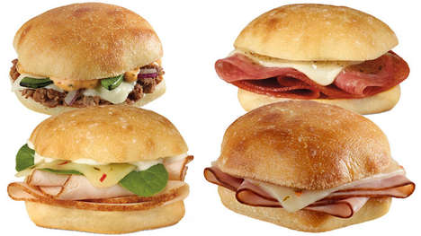 Pint-Sized Deli Sandwiches