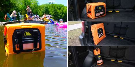 Arctic Zone's 30-Can Self-inflating Cooler Expands in 15 Seconds