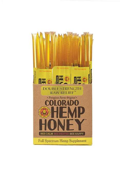 CBD-Infused Honey Sticks