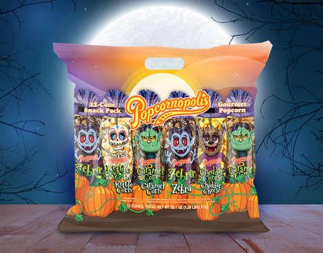 Costumed Popcorn Packs
