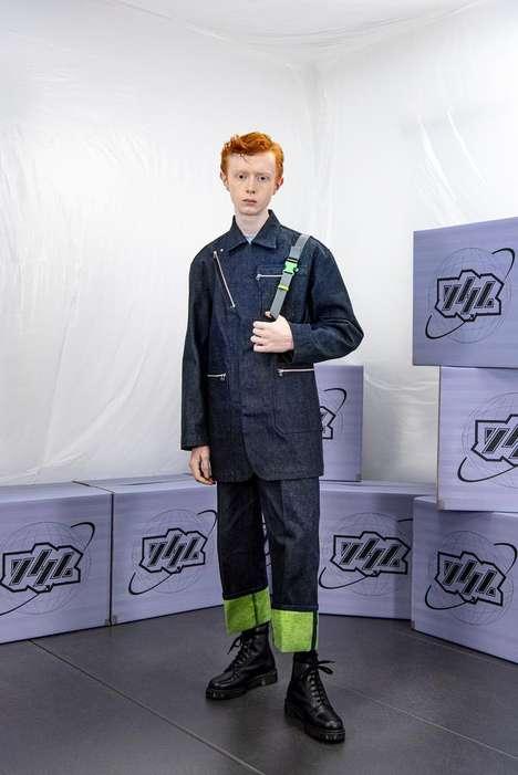 Workwear-Inspired Experimental Fashion