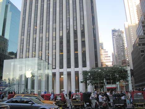 Glass Exterior Stores