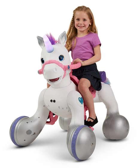 Rideable Unicorn Toys