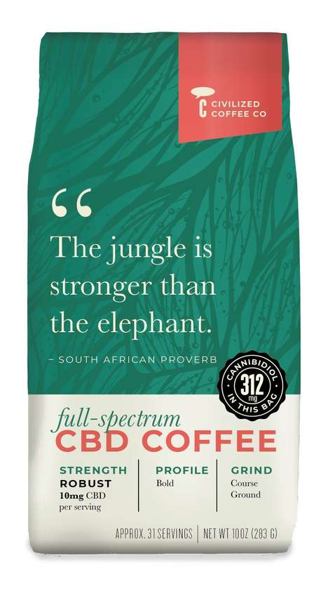 Full-Spectrum CBD Coffees