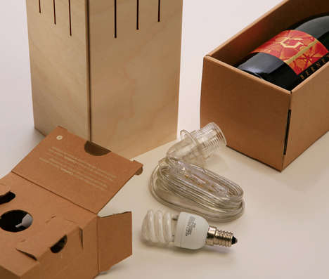 Illuminating Wine Boxes