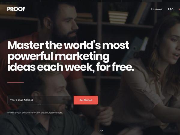 Short Marketing Lesson Websites