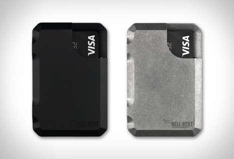 Billet Aluminum-Made Wallets