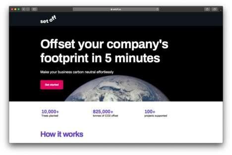 Carbon Footprint-Balancing Services
