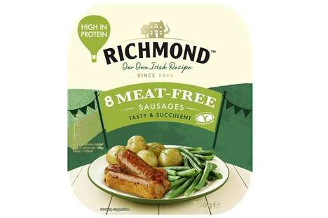 Succulent Soy-Based Sausages