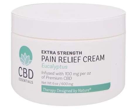 Pain-Alleviating CBD Creams