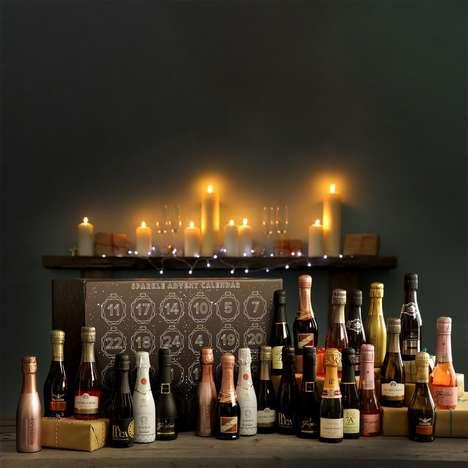 Sparkling Wine-Filled Advent Calendars