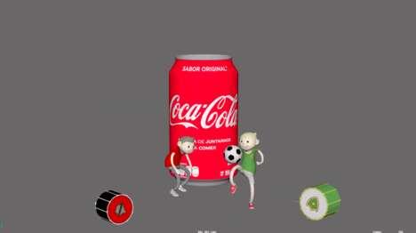 AR Soda Cans