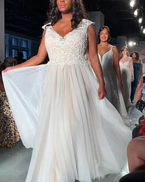 Size-Inclusive Bridal Runways