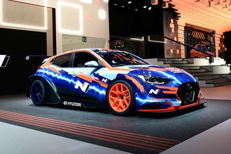 Electric Racing Car Designs