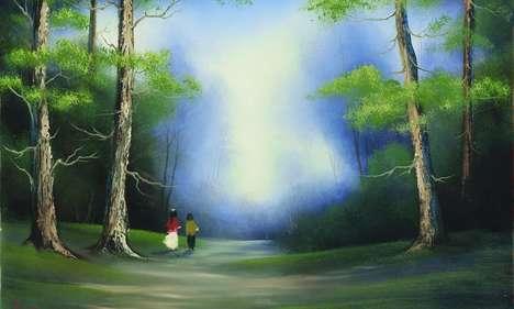 TV Painter Art Exhibits