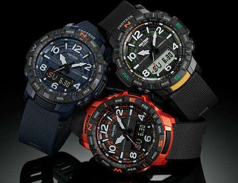 Connected Quad-Sensor Timepieces
