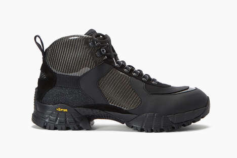 Carbon Fiber-Infused Boots