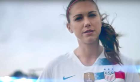 Female-Empowering Soccer Ads