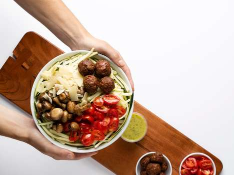 Meat-Free Meatball Toppings