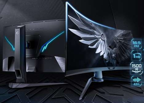 Noise Cancellation Gaming Monitors