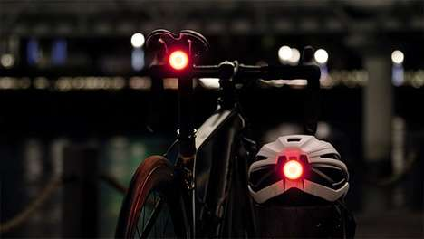 Motion-Sensing Safety Bike Lights