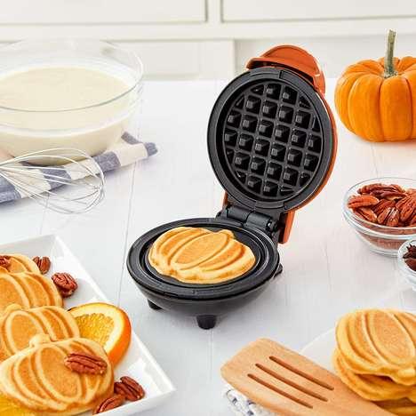 Pumpkin-Shaped Waffle Makers