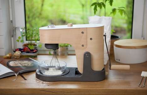 Manually Powered Kitchen Mixers