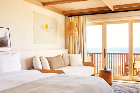 Beach-Inspired Hotel Interiors