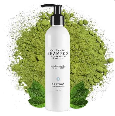 Non-Toxic Mint-Infused Shampoos