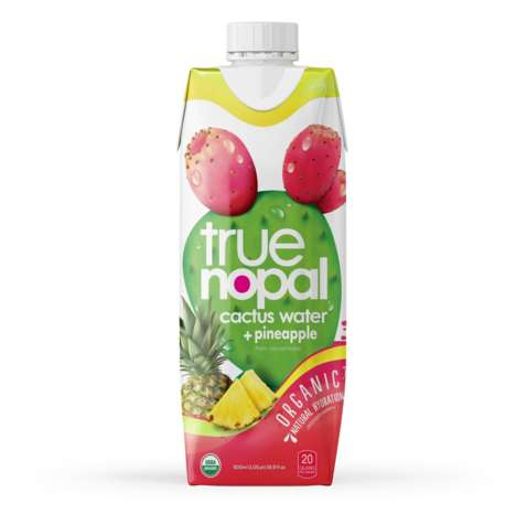 Tropical Cactus Water Beverages