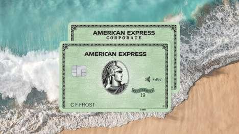 Ocean Plastic-Produced Credit Cards